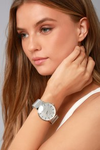 Time to Trend Silver Watch