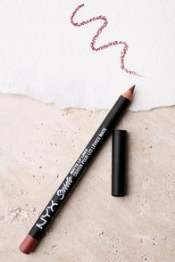 NYX Whipped Caviar Rose Pink Suede Matte Lip Liner