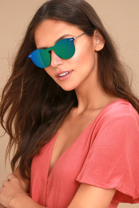 Pretty Purple Sunglasses Clear Sunglasses Geometric