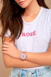 Make Good Time Rose Gold Watch