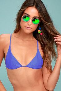 Stone Fox Isla Blue Bikini Top