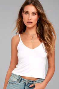 Project Social T Liv White Crop Top at Lulus.com!