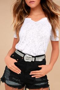 Amarillo Grey Belt