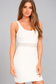 Pendulum White Bodycon Dress