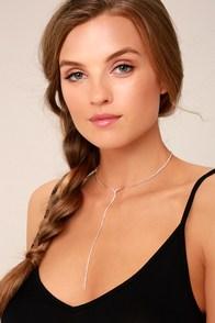 Aviva Gold Rhinestone Drop Choker Necklace