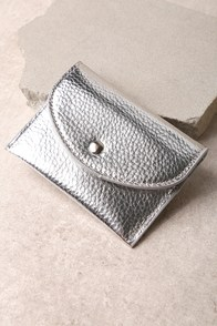 Thriving Silver Card Case