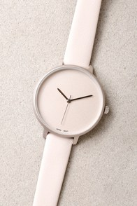 Timeless is More Beige Watch