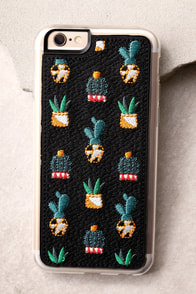 Zero Gravity Santa Fe Black Embroidered iPhone 6 and 6s Case