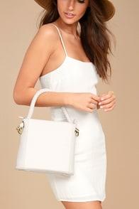 Bucket List Ivory Bag