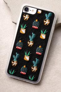 Zero Gravity Santa Fe Black Embroidered iPhone 7 Case