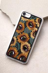Zero Gravity Sunny Black Embroidered iPhone 7 Case