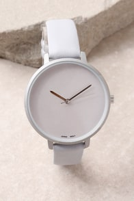 Timeless is More Grey Watch