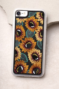 Zero Gravity Sunny Black Embroidered iPhone 6 and 6s Case
