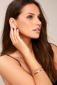 Chic as Can Be Rose Gold Bracelet