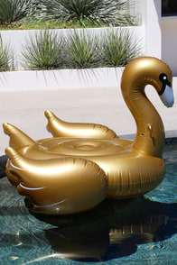 Sunnylife Swan Gold Luxe Float