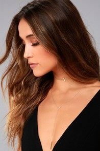 Our Song Gold Layered Choker Necklace
