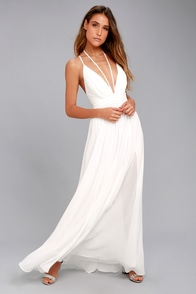 Brilliant Beauty White Maxi Dress