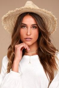 Rhythm Sun Beige Straw Hat