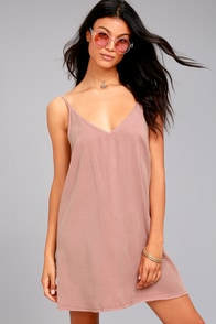 Project Social T Irene Mauve Shift Dress at Lulus.com!