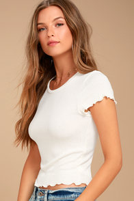 Project Social T Lainey Ivory Tee