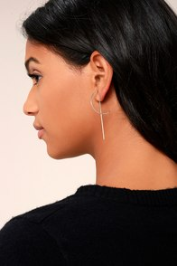 Bright Brilliance Silver Earrings