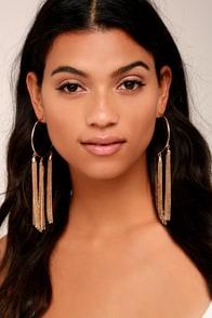 Brightest Light Gold Earrings