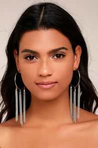 Brightest Light Silver Earrings