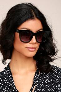 Perverse Dawn Patrol Black Sunglasses