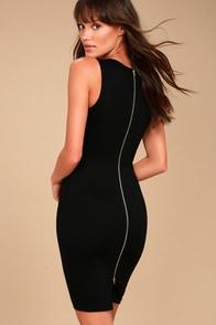 Quite Spectacular Black Bodycon Dress