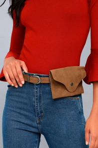 Big Adventure Tan Bag Belt at Lulus.com!