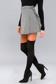 Slammin Black Over The Knee Boots at Lulus.com!