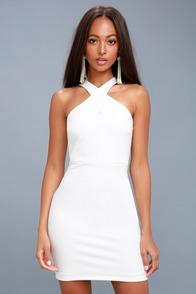 lace dress ivory dress sleeveless dress white dress