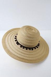 Sparkling Sands Gold Straw Sun Hat