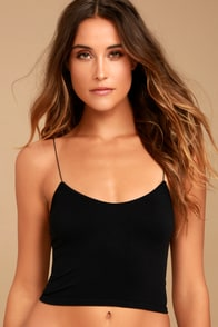 Brami Black Bra Top