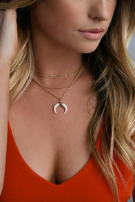 Bandit Babe Gold Layered Necklace