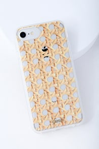 Rattan Beige Print IPhone 6s, 7, And 8 Case at Lulus.com!