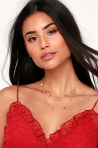 Sun Spirit Gold Layered Necklace