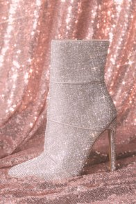 Winona Rhinestone Mid-Calf Booties at Lulus.com!