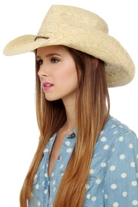 A Little Bit Country Straw Hat at Lulus.com!