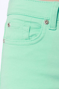 Moves Like Jagger Mint Jeggings at Lulus.com!
