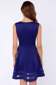 Final Stretch Royal Blue Dress at Lulus.com!