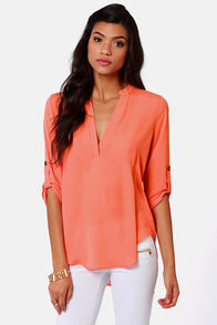 V-sionary Coral Top