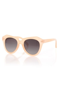 Rock Candy Peach Pastel Sunglasses at Lulus.com!