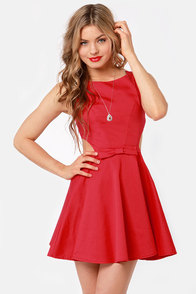 Queen of Swing Red Dress at Lulus.com!