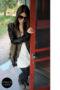 Blank NYC It Takes Two-Tone Vegan Leather Jacket at Lulus.com!