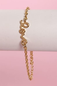 Heart on a String Love Bracelet at Lulus.com!