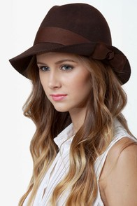 San Diego Hat Co. Idlewild Brown Fedora at Lulus.com!