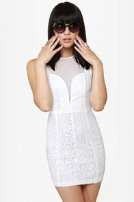 Like a Love Song Ivory Lace Dress