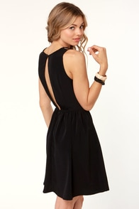 Calamity Jane Black Lace Dress at Lulus.com!