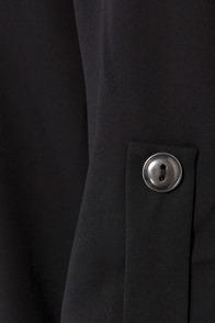 V-sionary Black Top at Lulus.com!